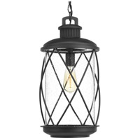 Hollingsworth 1 Light 10 inch Black Outdoor Hanging Lantern