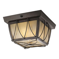Progress Lighting Montreux 2 Light Outdoor Ceiling in Antique Bronze P5514-20