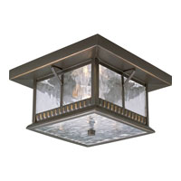 Progress Lighting Aberdeen 2 Light Outdoor Ceiling in Antique Bronze P5517-20