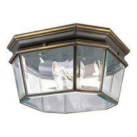 Progress Lighting Crawford 2 Light Outdoor Ceiling in Oil Rubbed Bronze P5535-108