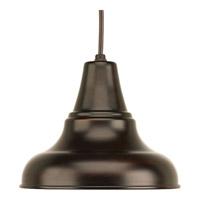 Progress P5535-20 District 1 Light 8 inch Antique Bronze Outdoor Hanging Lantern