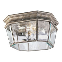 Progress Lighting Crawford 2 Light Outdoor Ceiling in Golden Baroque P5535-50