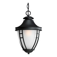 Fairview 1 Light 11 inch Black Outdoor Hanging Lantern in Standard