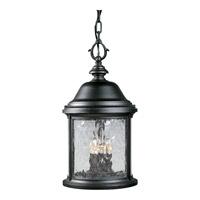Progress P5550-31 Ashmore 3 Light 10 inch Textured Black Outdoor Hanging Lantern