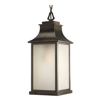 Salute 1 Light 9 inch Oil Rubbed Bronze Outdoor Hanging Lantern
