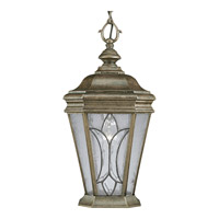 Progress Lighting Cranbrook 1 Light Outdoor Hanging Lantern in Burnished Chestnut P5558-86