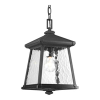 Progress Lighting Mac 1 Light Outdoor Hanging Lantern in Black P5559-31