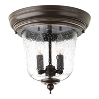 Ashmore 2 Light 11 inch Antique Bronze Outdoor Close-to-Ceiling Lantern