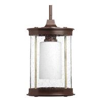 Progress P5564-20 Archives 1 Light 8 inch Antique Bronze Outdoor Hanging Lantern