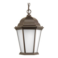 Progress Lighting Welbourne 1 Light Outdoor Hanging Lantern in Antique Bronze P5582-20
