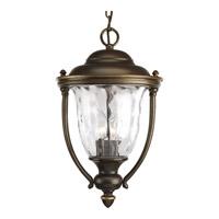 Progress P5584-108 Prestwick 3 Light 11 inch Oil Rubbed Bronze Outdoor Hanging Lantern