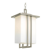 Progress Lighting Dibs 1 Light Outdoor Hanging Lantern in Brushed Nickel P5590-09