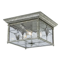 Progress Lighting Tiffany 3 Light Outdoor Ceiling in Golden Baroque P5596-50