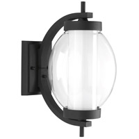 Ellipsis LED 16 inch Black Outdoor Wall Lantern