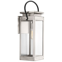 Union Square 1 Light 24 inch Stainless Steel Outdoor Wall Lantern, Large, Design Series