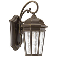 Verdae 1 Light 13 inch Antique Bronze Outdoor Wall Lantern, Small, Design Series
