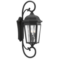 Verdae 3 Light 31 inch Black Outdoor Wall Lantern, Extra Large