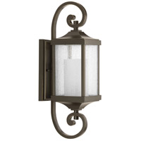 Devereux 1 Light 20 inch Antique Bronze Outdoor Wall Lantern, Small, Design Series