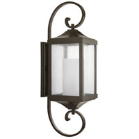 Devereux 1 Light 35 inch Antique Bronze Outdoor Wall Lantern, Large