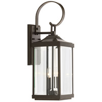 Gibbes Street 2 Light 22 inch Antique Bronze Outdoor Wall Lantern, Medium, Design Series