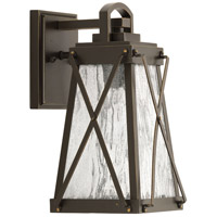 Creighton 1 Light 12 inch Antique Bronze Outdoor Wall Lantern, Small