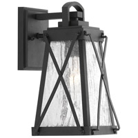 Creighton 1 Light 12 inch Black Outdoor Wall Lantern, Small