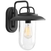 Progress P560050-031 Beaufort 1 Light 14 inch Black Outdoor Wall Lantern Medium
