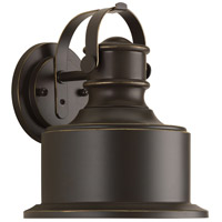 Callahan LED 10 inch Antique Bronze Outdoor Wall Lantern, Small