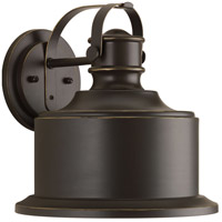 Callahan LED 12 inch Antique Bronze Outdoor Wall Lantern, Medium