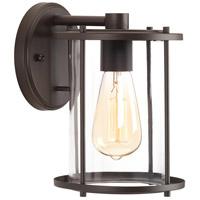 Progress P560057-020 Gunther 1 Light 10 inch Antique Bronze Outdoor Wall Lantern