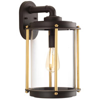 Progress P560061-129 Laine 1 Light 17 inch Architectural Bronze Outdoor Wall Lantern
