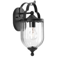 Progress P560062-031 McPherson 1 Light 14 inch Black Outdoor Wall Lantern