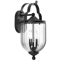 Progress P560063-031 McPherson 2 Light 18 inch Black Outdoor Wall Lantern