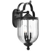 Progress P560063-031 Mcpherson 2 Light 18 inch Black Outdoor Wall Lantern