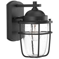 Holcombe 1 Light 11 inch Black Outdoor Wall Lantern
