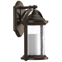 Whitacre LED 14 inch Antique Bronze Outdoor Wall Lantern, Design Series