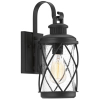 Progress P560080-031 Hollingsworth 1 Light 15 inch Black Outdoor Wall Lantern
