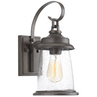 Conover 1 Light 14 inch Antique Pewter Outdoor Wall Lantern