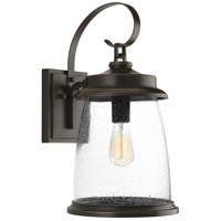Progress P560085-020 Conover 1 Light 21 inch Antique Bronze Outdoor Wall Lantern Large