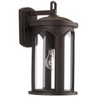 Progress P560087-020 Gables 1 Light 11 inch Antique Bronze Outdoor Wall Lantern
