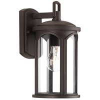 Gables 1 Light 14 inch Antique Bronze Outdoor Wall Lantern