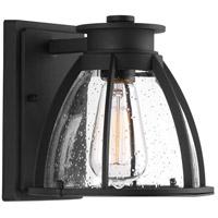 Progress P560089-031 Pier 33 1 Light 8 inch Black Outdoor Wall Lantern
