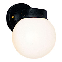Progress Lighting Utility Lantern 1 Light Outdoor Wall in Black P5604-31