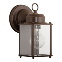Progress Lighting Signature 1 Light Outdoor Wall Lantern in Antique Bronze P5607-20