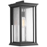 Endicott 1 Light 18 inch Black Outdoor Wall Lantern, Extra Large
