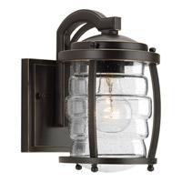 Progress P5614-108 Signal Bay 1 Light 9 inch Oil Rubbed Bronze Outdoor Wall Lantern