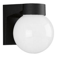 Progress Lighting Cast Aluminum 1 Light Outdoor Wall in Black P5617-31