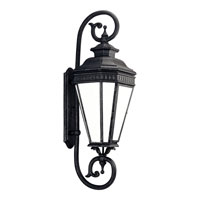 Progress P5623-71STR Georgian 1 Light 39 inch Gilded Iron Outdoor Wall Lantern in Energy Star Rated photo thumbnail