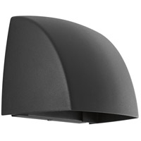 Cornice LED 5 inch Black Outdoor Wall