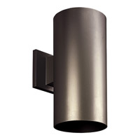 Progress Lighting Cylinder 1 Light Outdoor Wall in Antique Bronze P5641-20